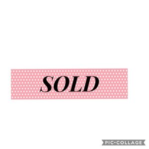 Sold items ⬇️